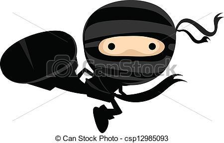 Cute ninja clipart 4 » Clipart Portal.