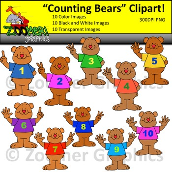 Numbers Clipart.