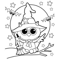cute october clipart coloring page - Clipground