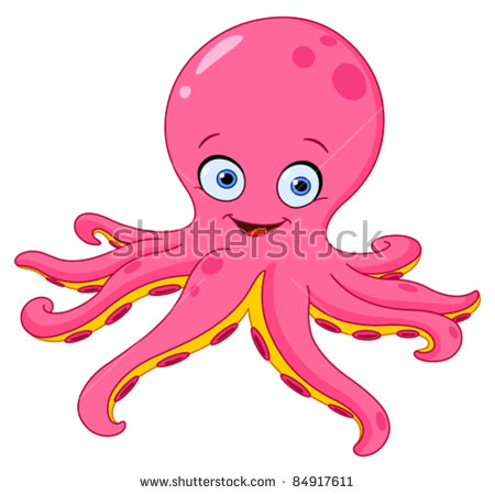 Octopus Stock Images, Royalty.