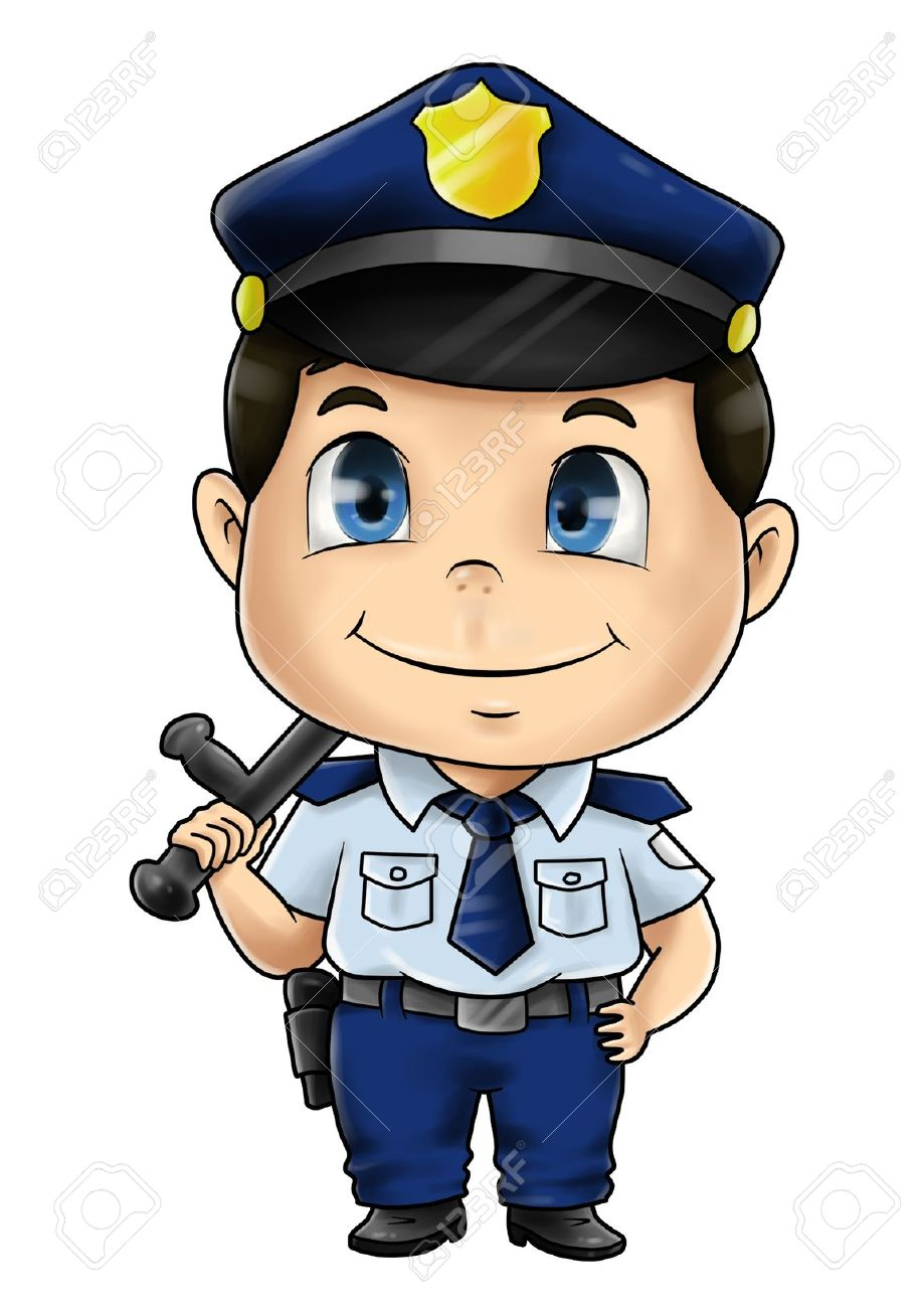 Showing post & media for Cute police officer cartoon.