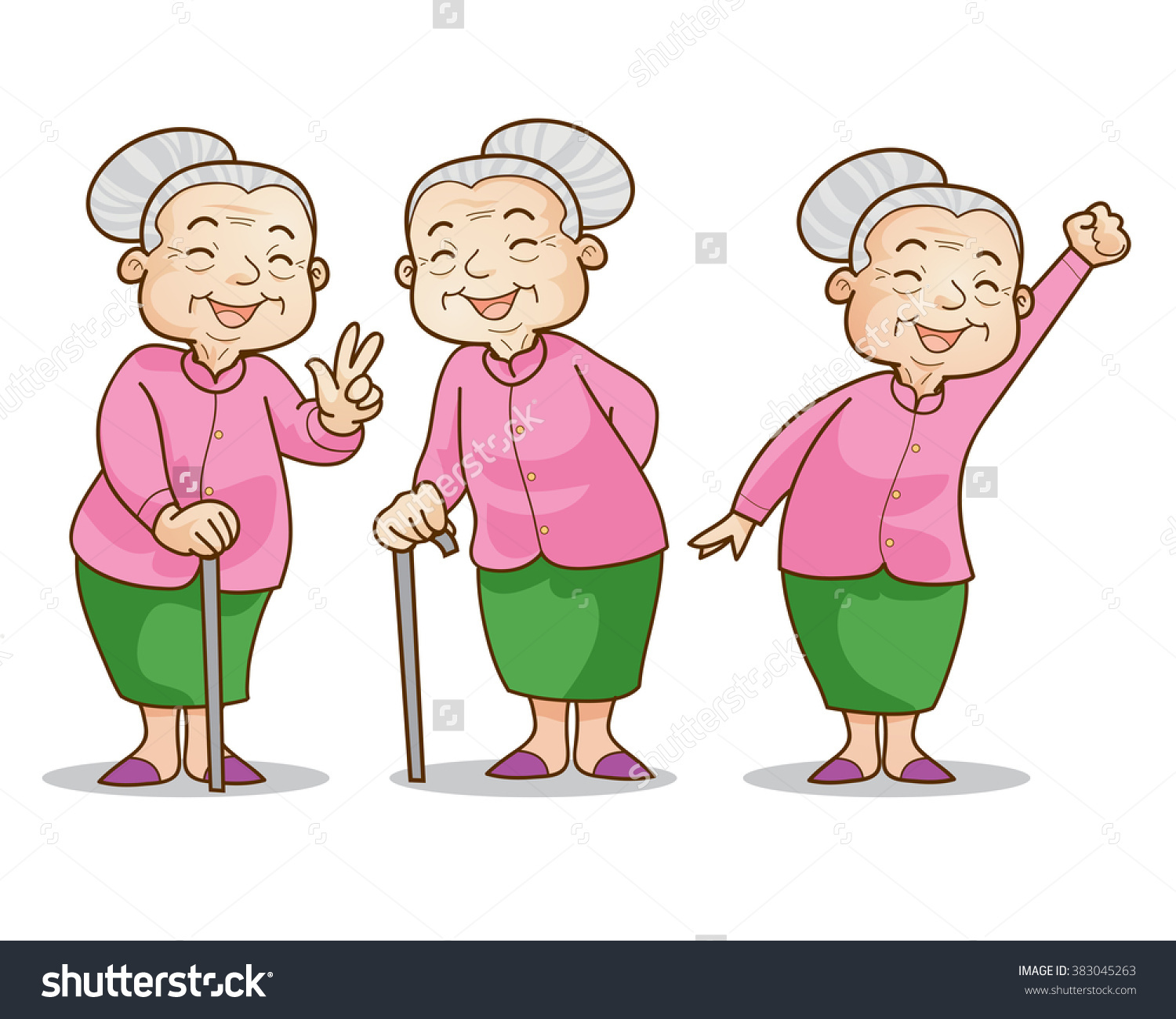 Showing post & media for Cartoon old fashioned woman.