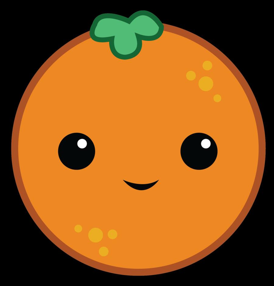 Cute Orange Clipart.