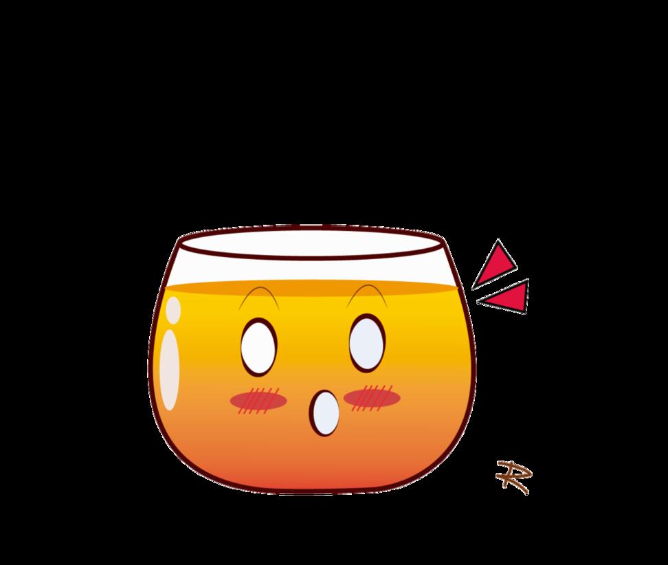 Cute Cup Tea or Orange Juice by: LeonorML by LeonorML on DeviantArt.