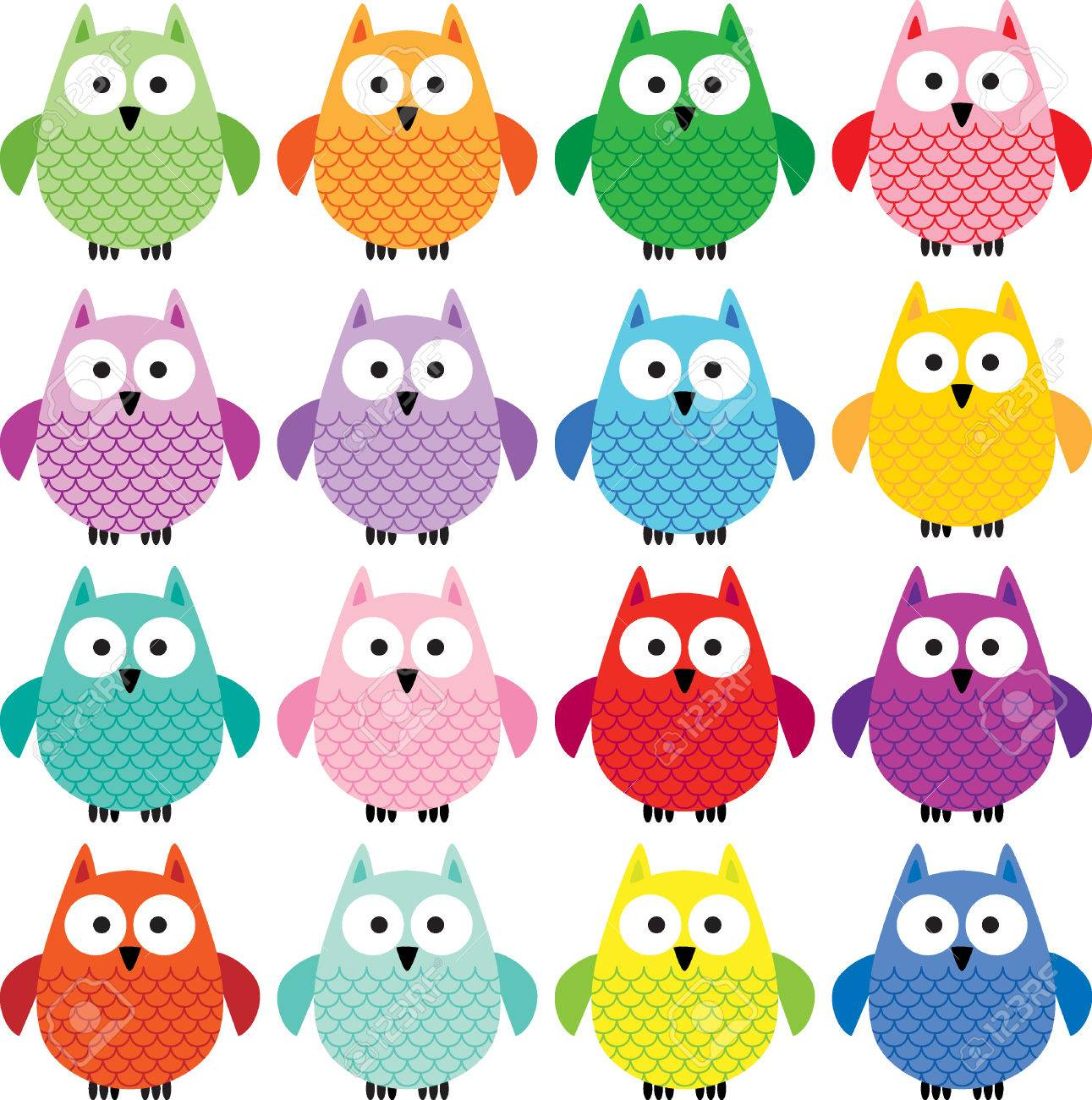 Cute Owl Clipart Royalty Free Cliparts, Vectors, And Stock.