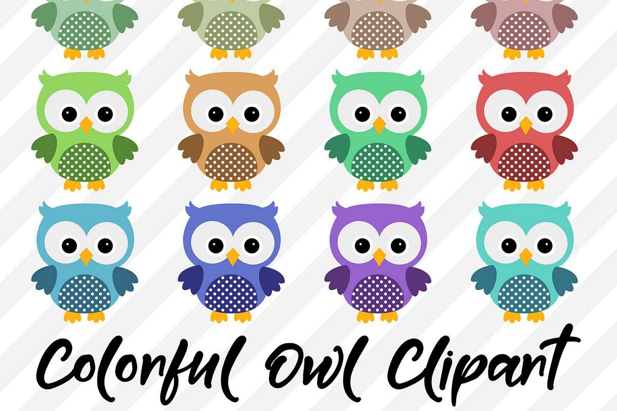 Owl Clipart, Cute Owls.