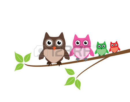 1,553 Family Owl Cliparts, Stock Vector And Royalty Free Family.