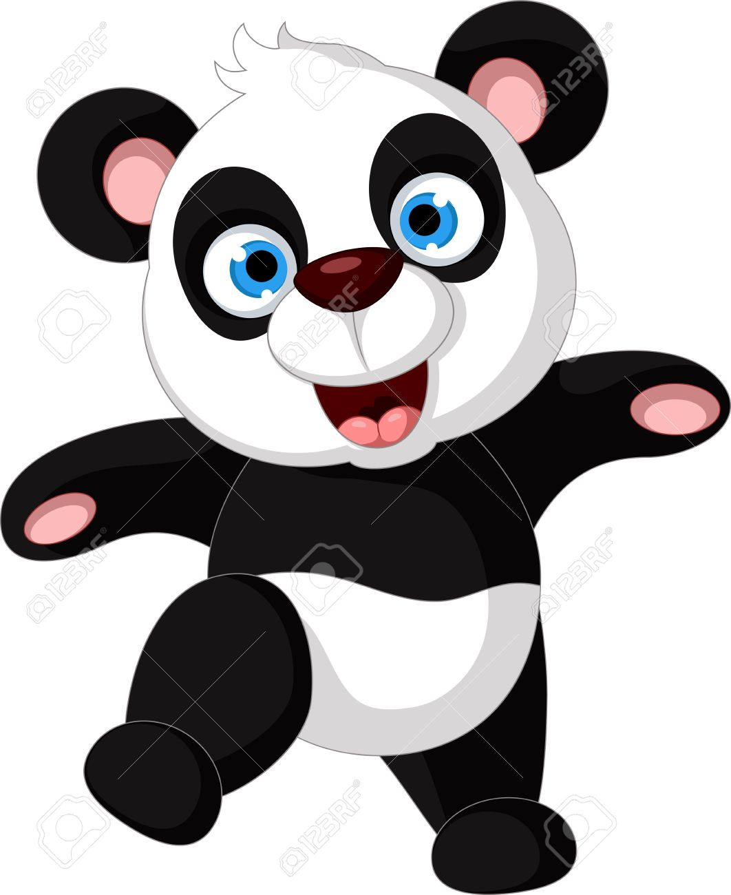 5,791 Happy Panda Stock Vector Illustration And Royalty Free Happy.