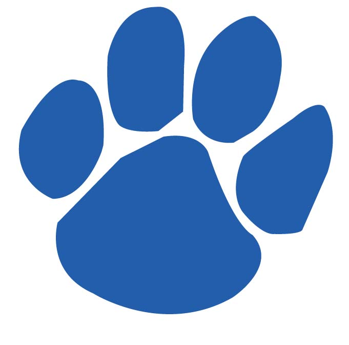 Panther Paw Clipart.