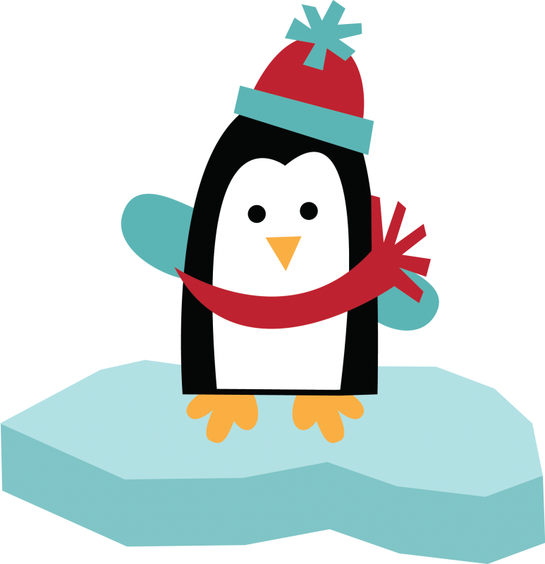 Cute Penguin Clip Art.