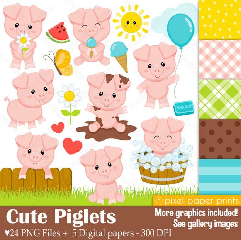 Cute Piglets.