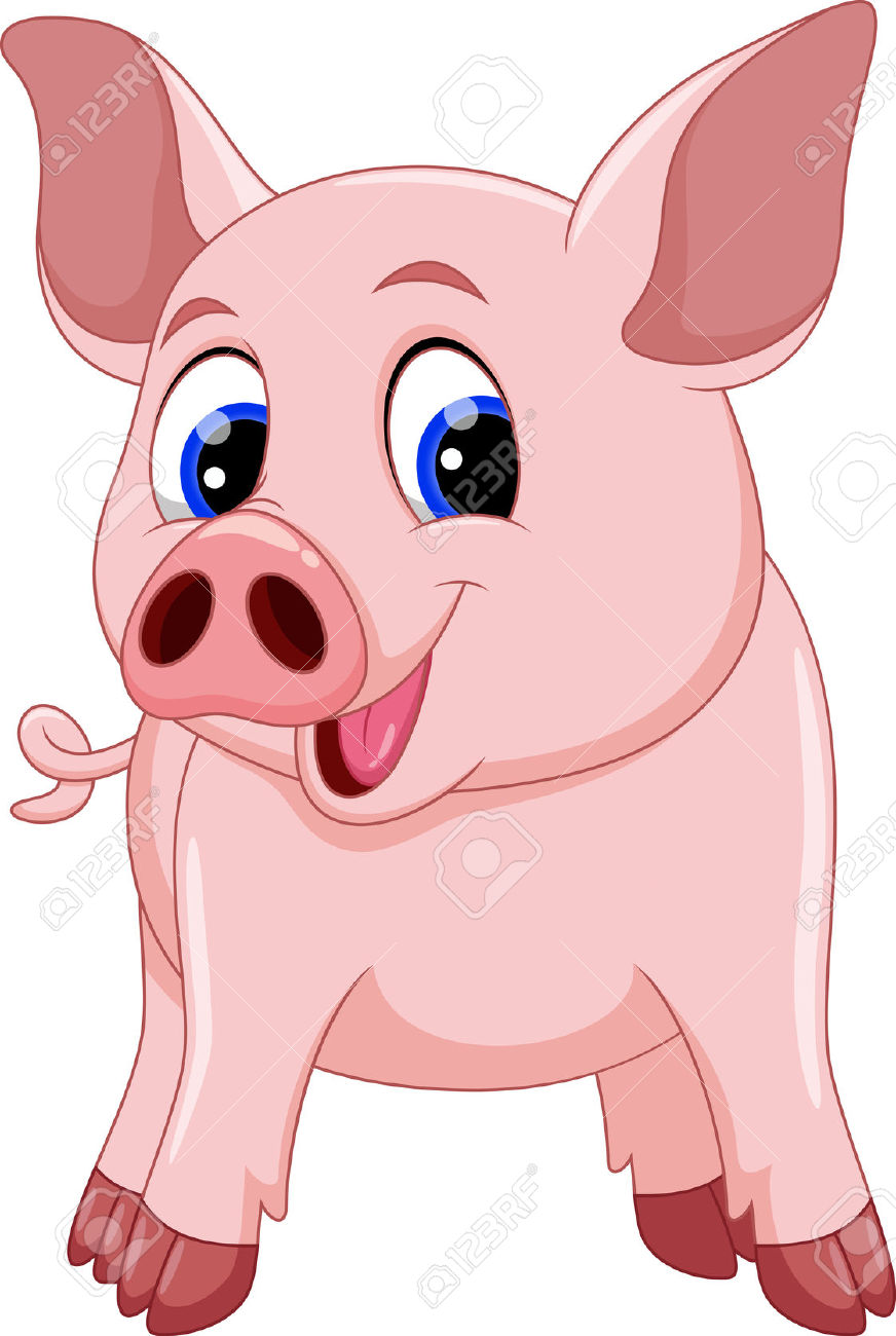 12,860 Cute Pig Cliparts, Stock Vector And Royalty Free Cute Pig.