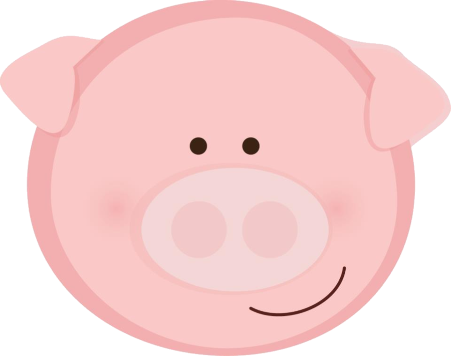 275 Pig Face free clipart.