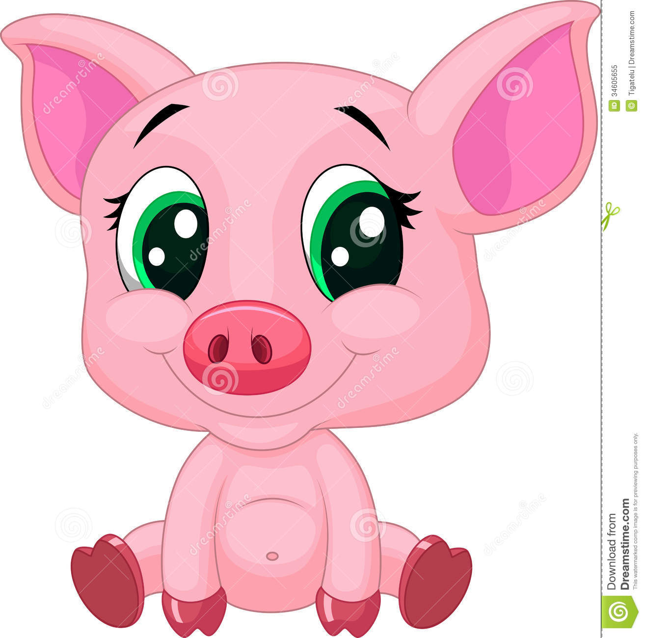 Pictures Of Pink Pigs.