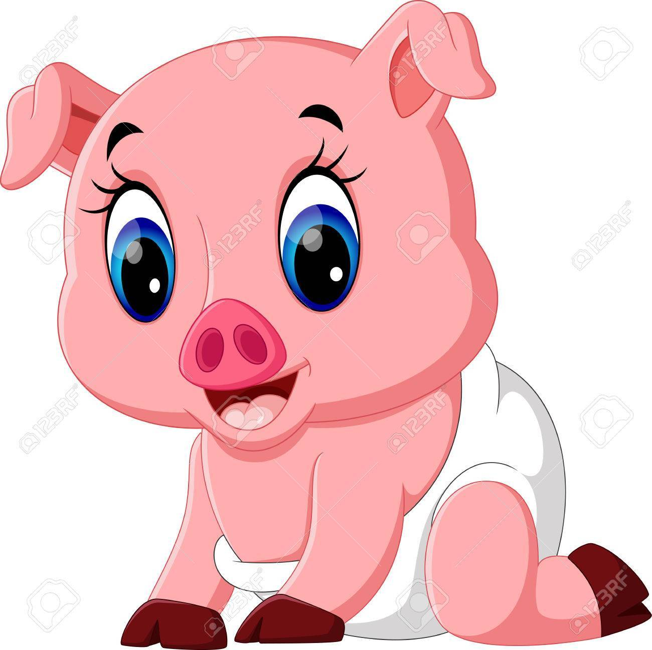 Cute baby pigs clipart 8 » Clipart Portal.