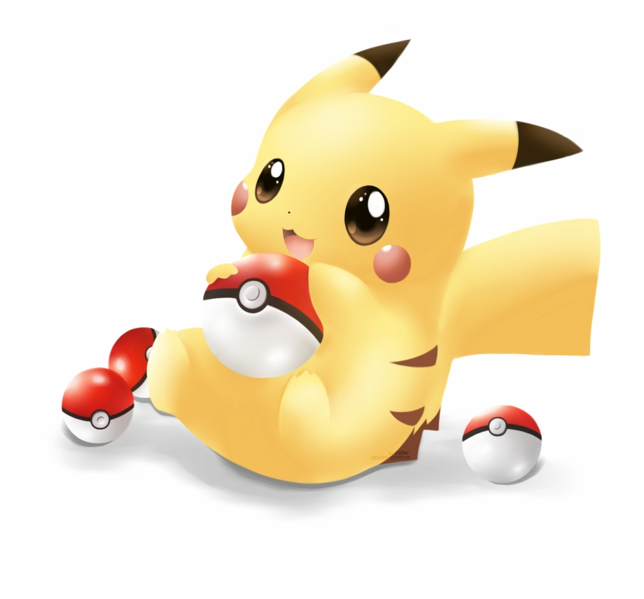 Cute Pikachu Free PNG Images & Clipart Download #2570968.