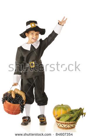 Pilgrim Hat Stock Images, Royalty.
