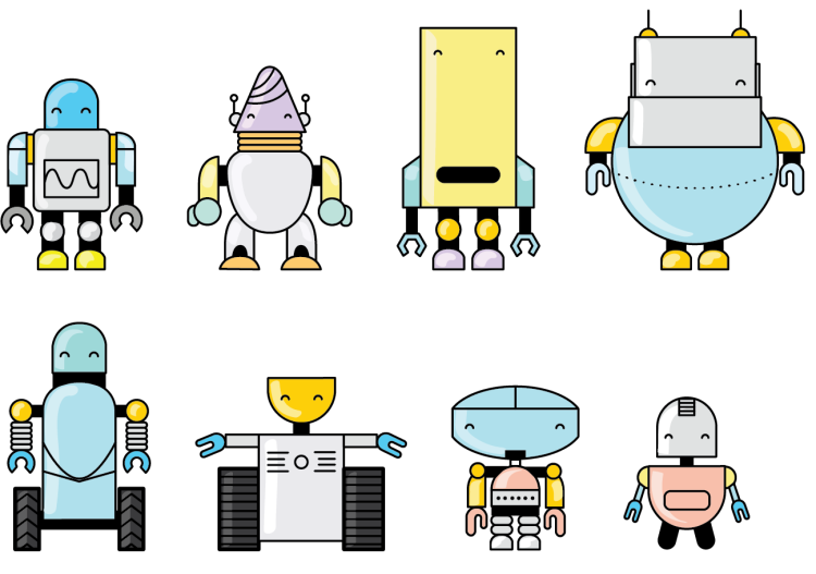 Meet the Story Pill robots, designed to teach people about.