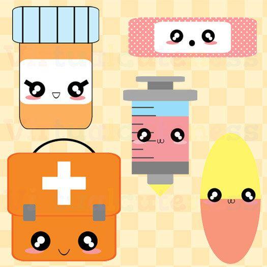 Medicine Cute Clipart.