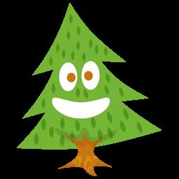 Cute Pine Tree Clipart.
