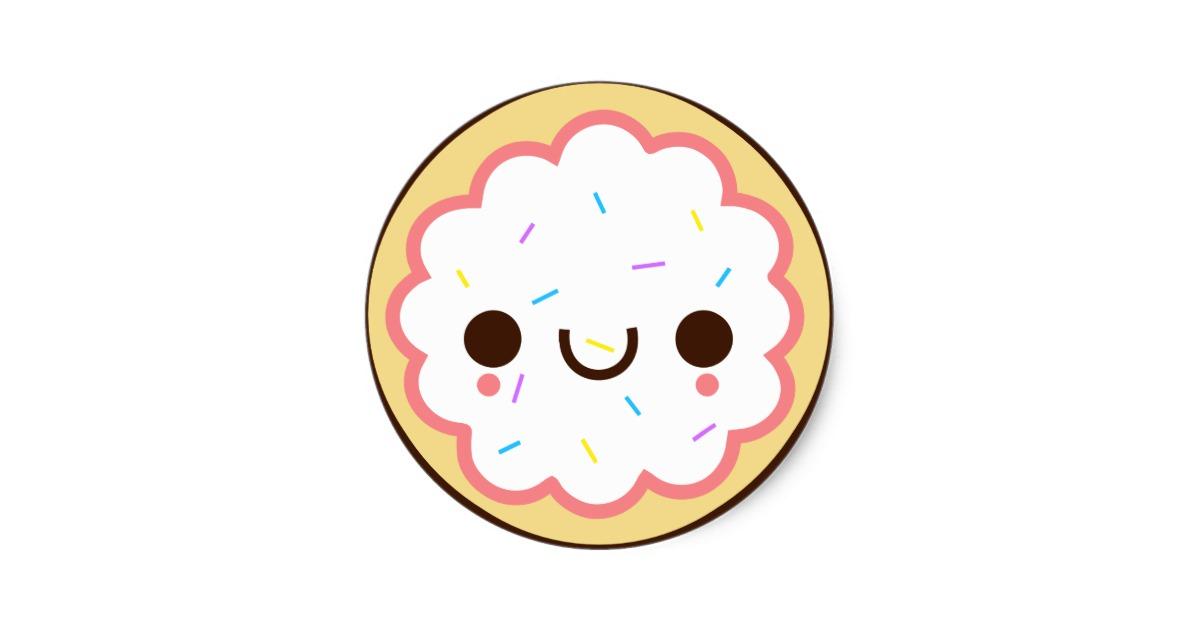 Kawaii Cookies Stickers.