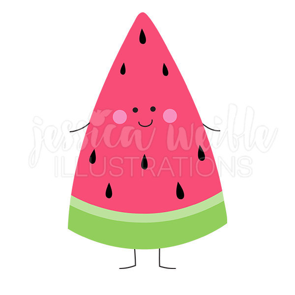 Watermelon graphic.