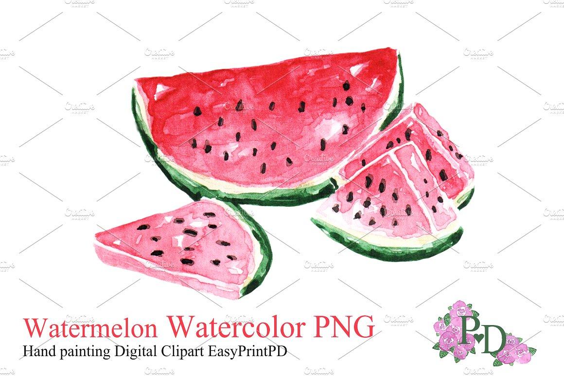 Watermelon clipart Photos, Graphics, Fonts, Themes, Templates.