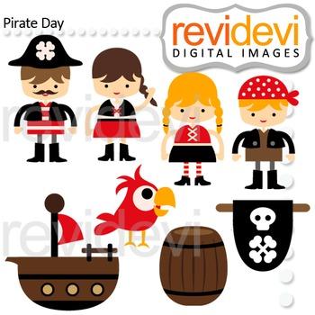 Pirate Clip Art.