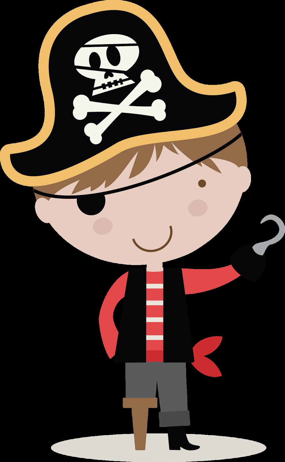 55+ Cute Pirate Clipart.