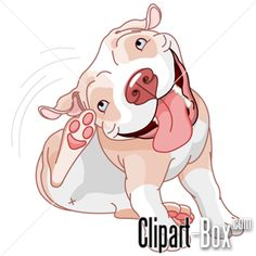 7 Best pitbull clipart images in 2014.