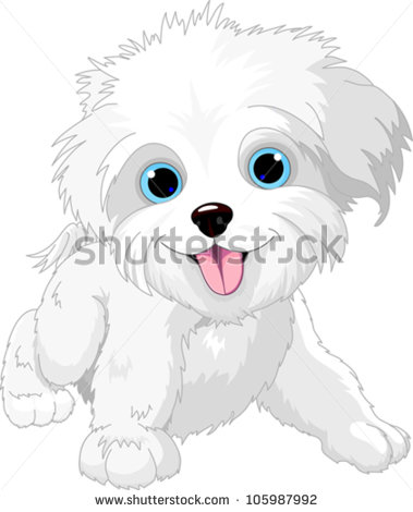 Playful Dog Stock Images, Royalty.