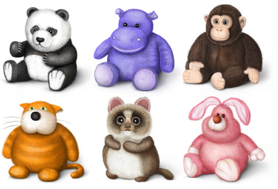 Clipart stuffed animals.