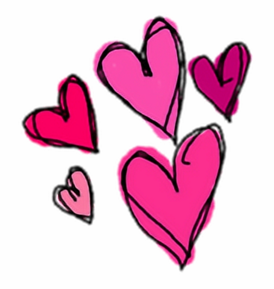 cute #heart #hearts #pink #sticker #stickers #png.