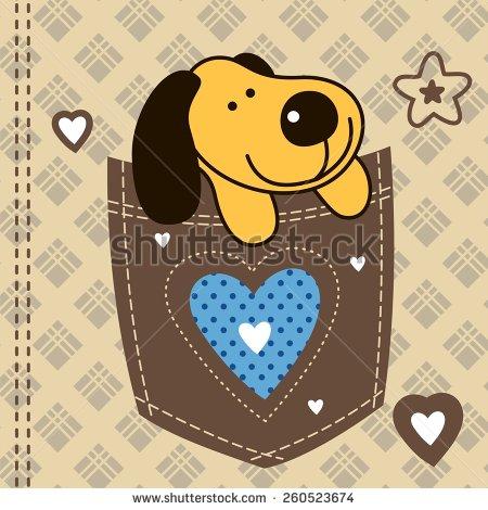 Cute Pocket Clipart.