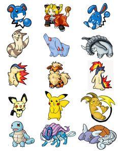 Cute Pokemon Clipart Background.