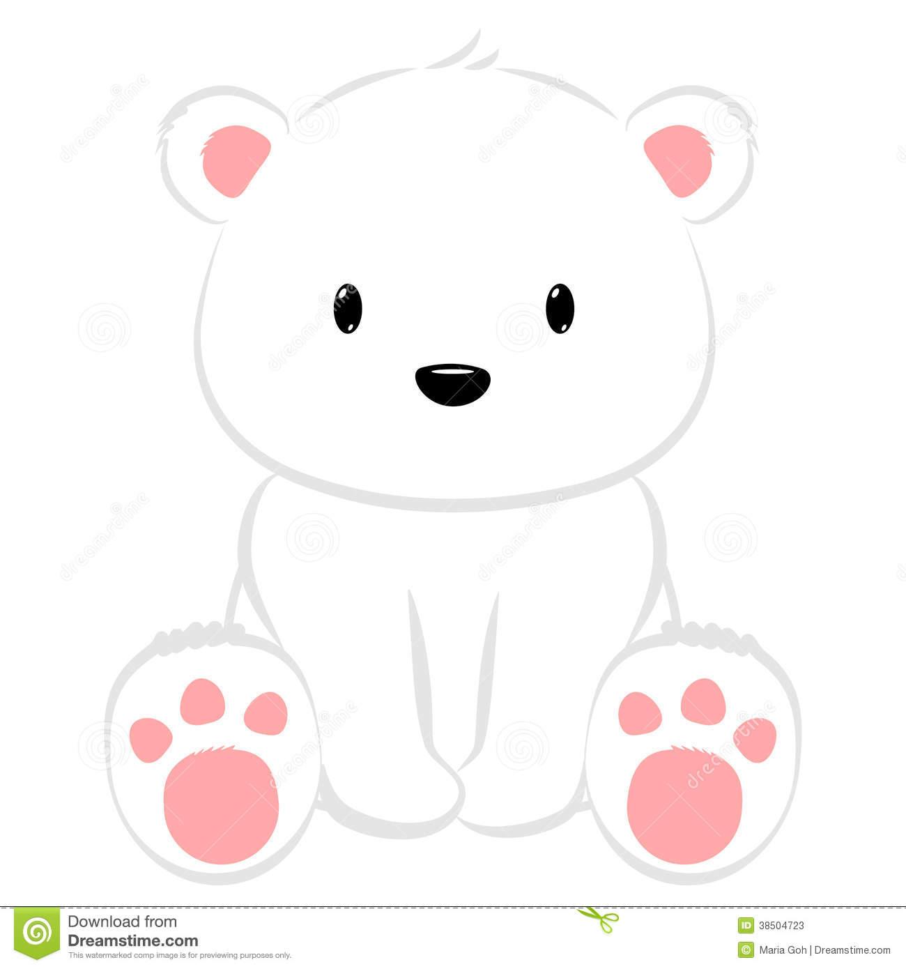 Cute polar bear clipart 7 » Clipart Station.