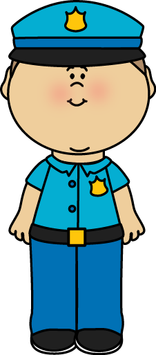 Police Officer Clipart For Kids.