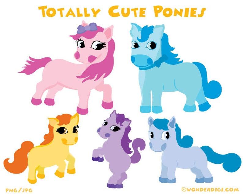 Pony Clipart Clip art Ponies Characters.