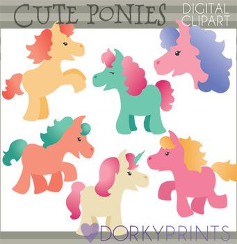Cute Pony Clipart.