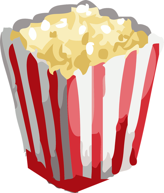 Free to Use & Public Domain Popcorn Clip Art.