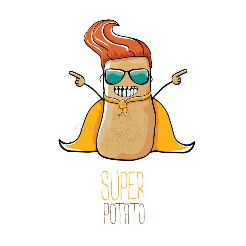 Cartoon Potato Stock Illustrations.