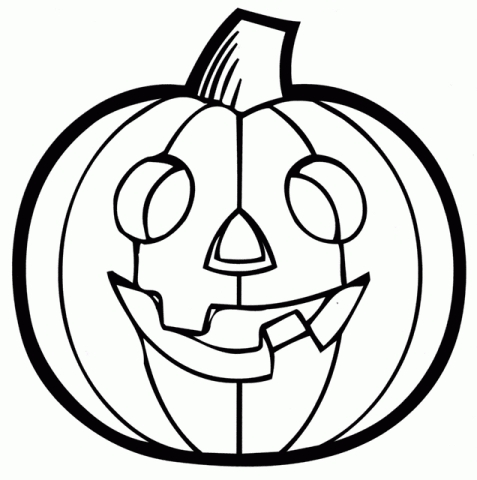 Pumpkin Clipart Images Black And White.