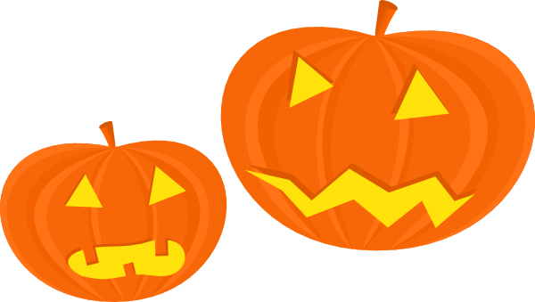 Animated Pumpkins Clipart.
