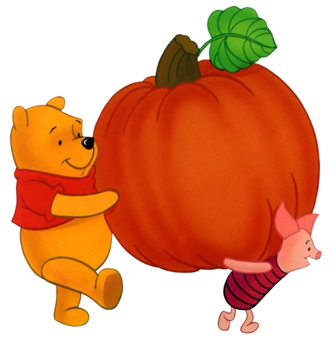 Disney pumpkins clipart.