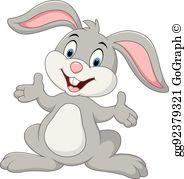 Cute Rabbit Clip Art.