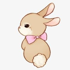 Cute rabbit clipart 5 » Clipart Station.