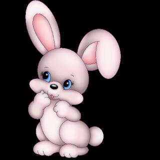 Cute Rabbit Clipart Png.