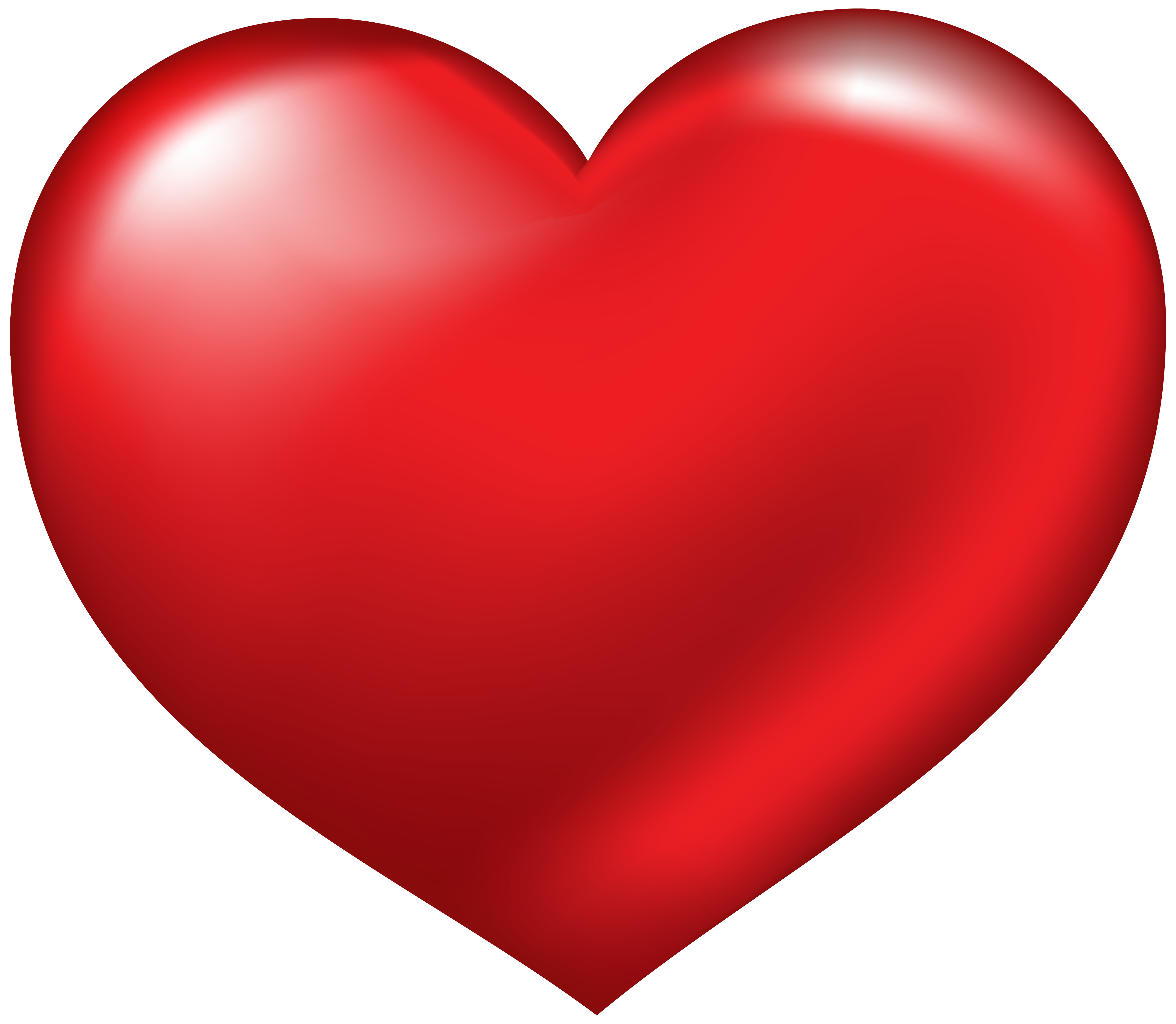 Red heart clip art heart clipart.