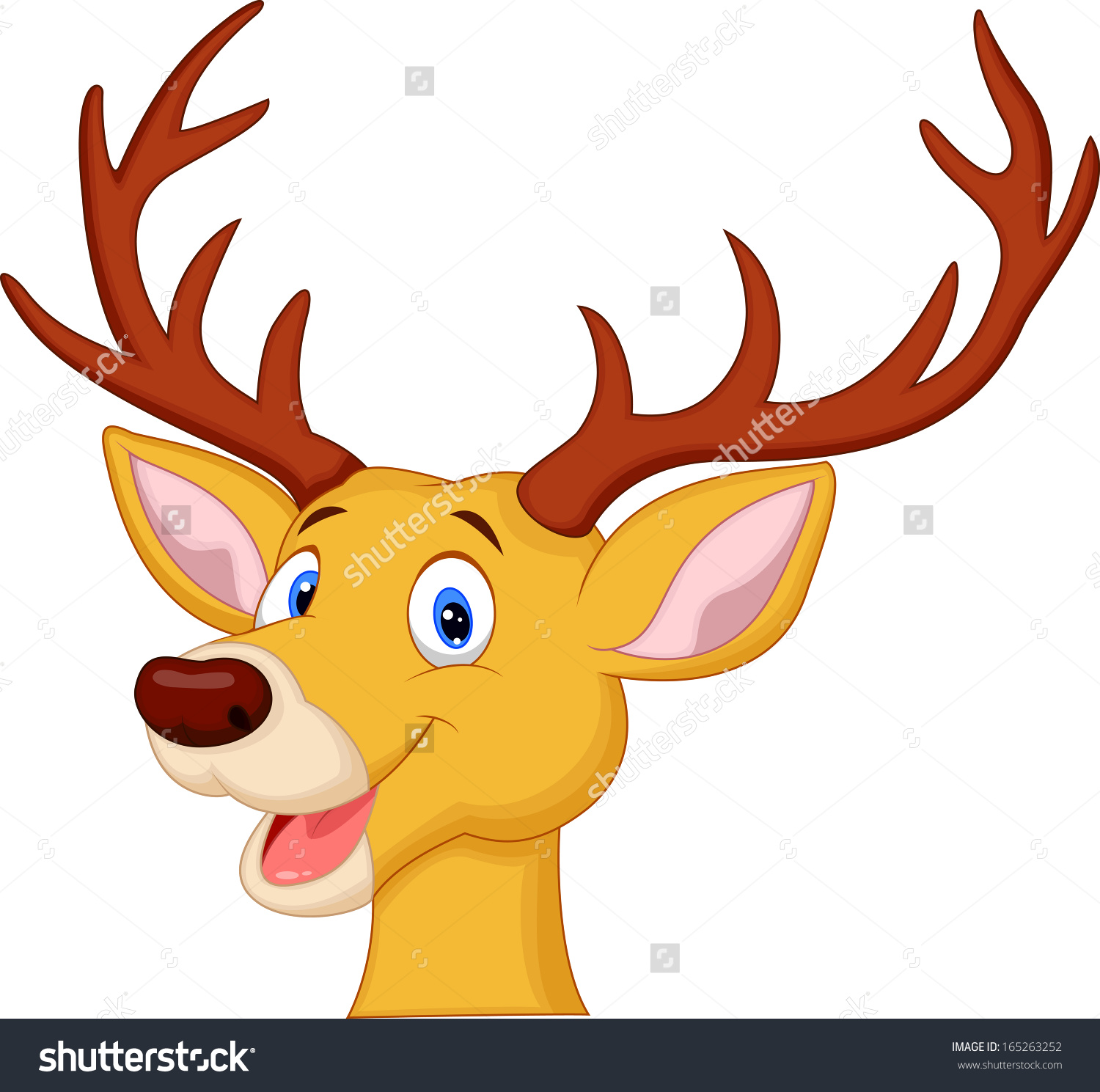 Cute Reindeer Clipart at GetDrawings.com.