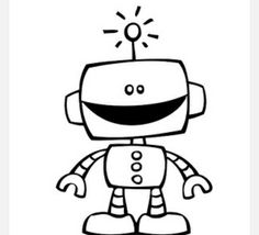 Free Robot Cliparts Black, Download Free Clip Art, Free Clip.